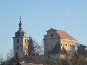 Křešice-Zahořany, kostel Nejsvětější Trojice