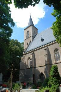 Kutná Hora, kostel Nejsvětější Trojice