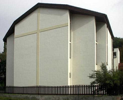 Ústí nad Labem - Klíše, sborový dům CB