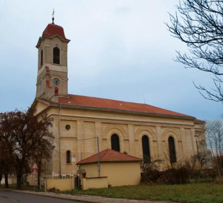 Březí, kostel sv. Jana Křitele