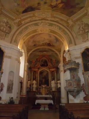Vratěnín, kostel sv. Jakuba Staršího