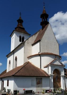 Albrechtice nad Vltavou, kostel sv. Petra a Pavla
