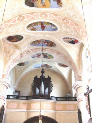 Kaplice-Blansko, kostel sv. Jiří