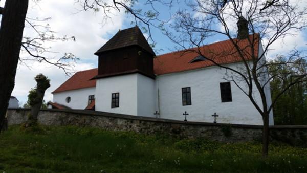 Albrechtice nad Vltavou - Chřešťovice, kostel sv. Jana Křtitele na poušti