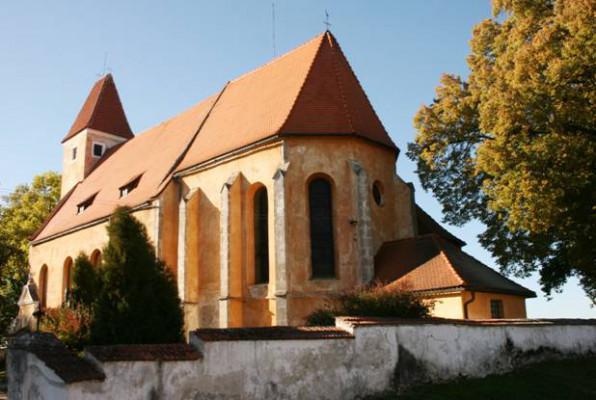 Malonty, kostel sv. Bartoloměje