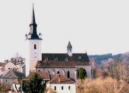 Rožmitál na Šumavě, kostel sv. Šimona a Judy