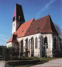Dolní Dvořiště - Rychnov nad Malší, kostel sv. Ondřeje