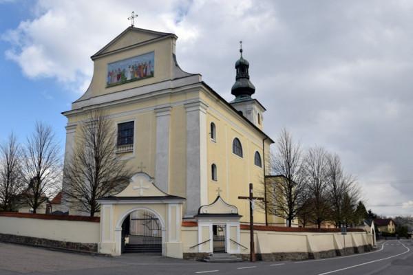 Bohuslavice, kostel Nejsvětější Trojice