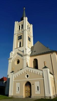 Vidnava, kostel sv. Kateřiny