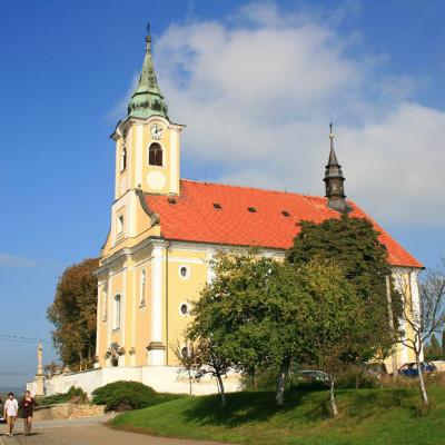 Jalubí, kostel sv. Jana Křtitele
