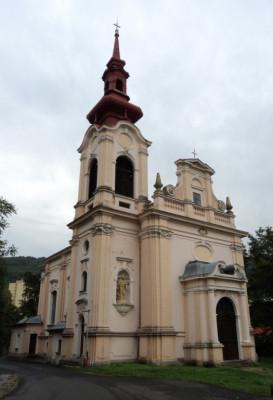 Ústí nad Labem - Střekov, kostel Nejsvětější Trojice