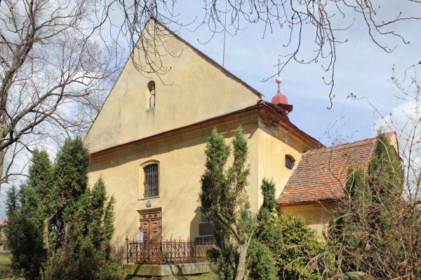 Vlastibořice, kostel sv. Kateřiny