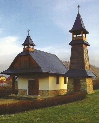 Zlín-Velíková, kaple sv. Cyrila a Metoděje