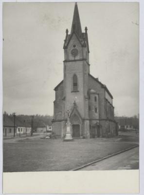 Brno-Černovice, bývalý kostel sv. Floriána