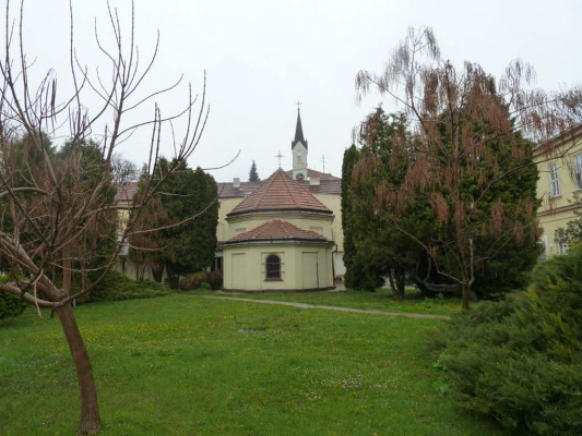 Brno-Černovice, nemocniční kaple v Psychiatrické nemocnici