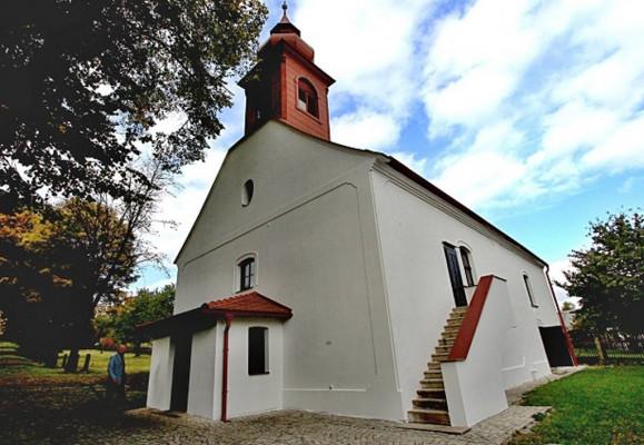 Horní Dubenky, evangelický kostel