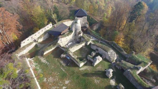 Lukov, kaple sv. Jana Křtitele, Hrad Lukov