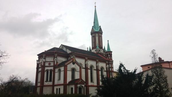 Vidnava, kostel sv. Františka