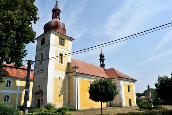 Dolní Lukavice, kostel sv. Petra a Pavla
