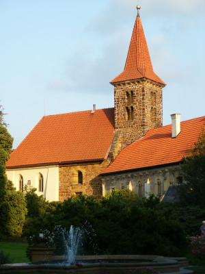 Kostel Narození Panny Marie v Průhonicích