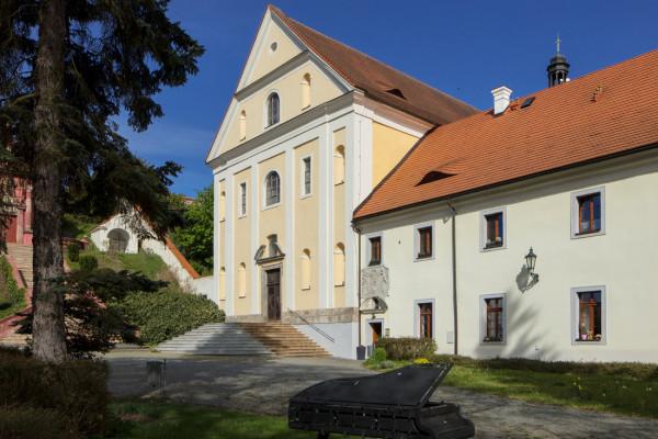 Kostel Zvěstování Panny Marie / Klášterní kostel, dnes expozice církevního umění