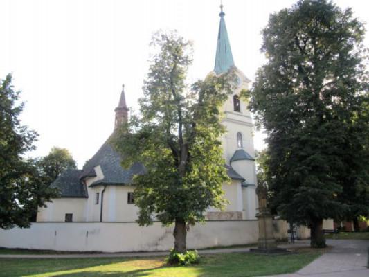 Břest, kostel sv. Jakuba