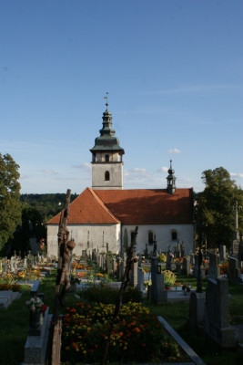 Jistebnice, kostel sv. Michaela