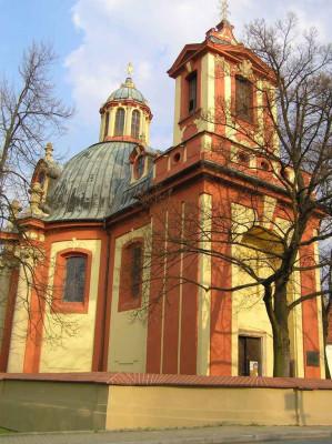 Kostel sv. Jakuba Kunratice