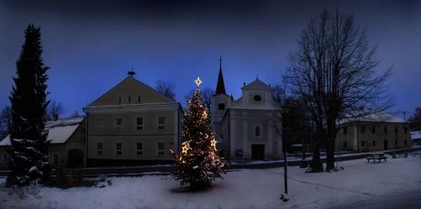 Kostel noční / Noční kostel