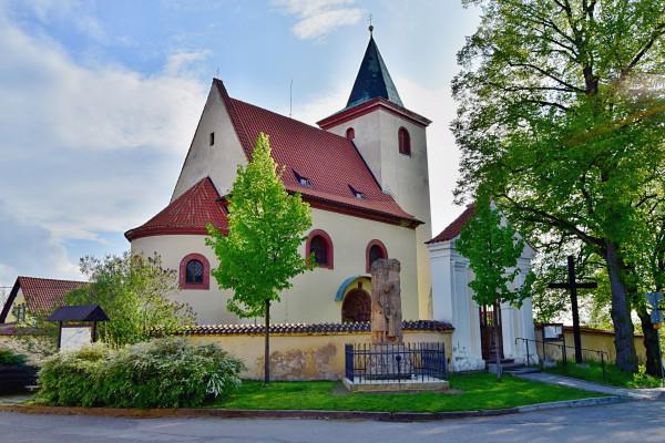 Hrusice, Kostel sv. Václava