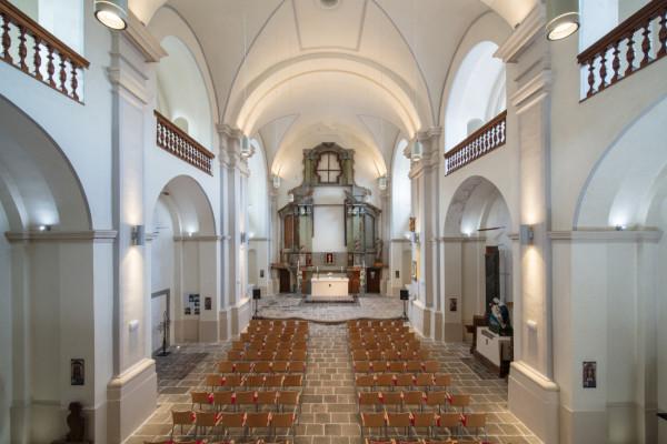 Kostel Zvěstování Panny Marie / Interiér