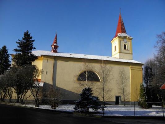 Paršovice, kostel sv. Markéty