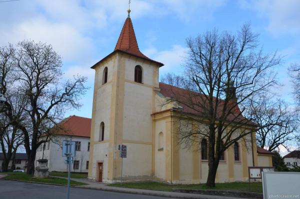 Stochov / Kostel sv. Václava