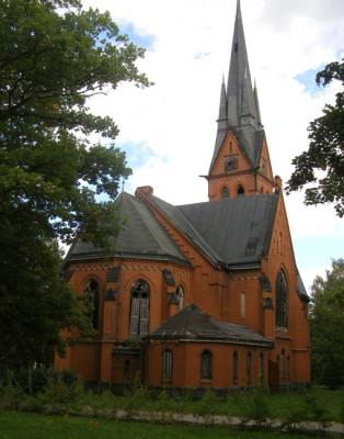 Červený kostel Varnsdorf